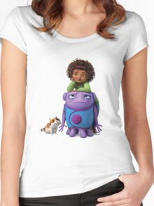 Home Women's Fitted Scoop T-Shirt