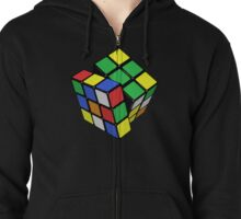 The Cube Zipped Hoodie