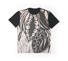Renewal - Seedpod in Black and White Graphic T-Shirt