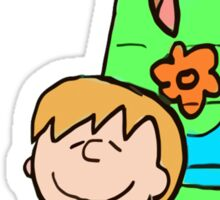 SNOOPY-DOO - SHAGGY BROWN Sticker