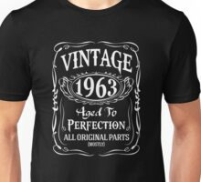 1963 - Aged To Perfection Unisex T-Shirt