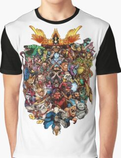 The Heroes - DOTA 2 Graphic T-Shirt