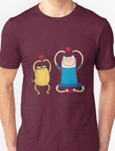 Jake and Finn Unisex T-Shirt