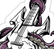 Octopus Music Sticker