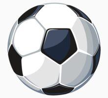 Large soccer ball Baby Tee