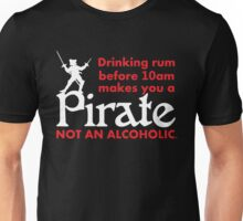 Pirate Drinking Humor Unisex T-Shirt