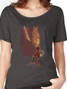 Phoebe the Flame King Women's Relaxed Fit T-Shirt