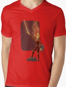 Phoebe the Flame King Mens V-Neck T-Shirt