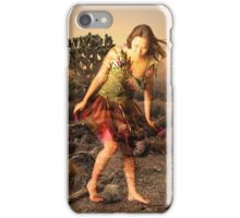 ROCKIN HER DESERT LOVE iPhone Case/Skin