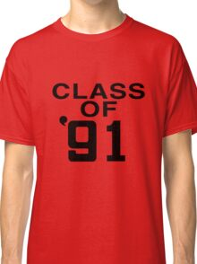 CLASS OF '91 [AS WORN BY GAZ COOMBES/SUPERGRASS] Classic T-Shirt