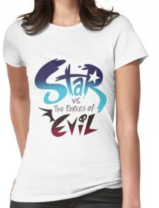Star VS Evil Womens Fitted T-Shirt