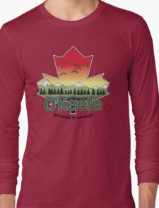 O'Keefe Brewery - Brewed in Canada Long Sleeve T-Shirt