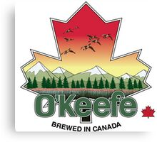 O'Keefe Brewery - Brewed in Canada Canvas Print