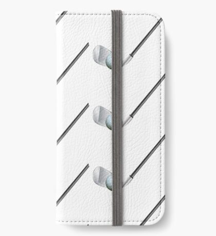 Golf stick and ball iPhone Wallet/Case/Skin
