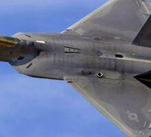 Lockheed Martin F-22A Raptor 06-4108/AK Sticker