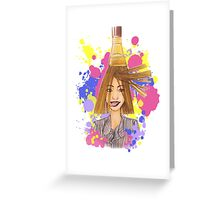 Just Paint! Greeting Card