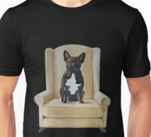 Jimmy French bulldog with attitude Unisex T-Shirt