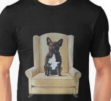 Jimmy French bulldog with attitude Unisex T-Shirt
