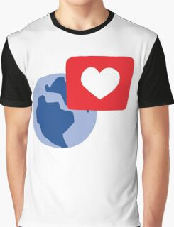 Love notification Graphic T-Shirt