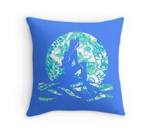 Lilly Pulitzer Inspired Mermaid - In a Pinch Throw Pillow