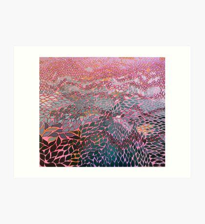 Semi-arid summer Art Print
