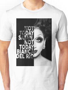 Bianca Del Rio Text Portrait Unisex T-Shirt
