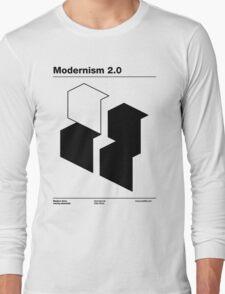 Modernism 2.0 (b) Long Sleeve T-Shirt