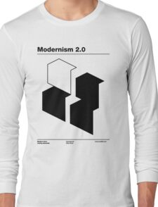 Modernism 2.0 (b) Long Sleeve T-Shirt