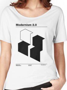 Modernism 2.0 (b) Women's Relaxed Fit T-Shirt