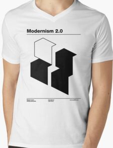 Modernism 2.0 (b) Mens V-Neck T-Shirt