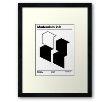 Modernism 2.0 (b) Framed Print