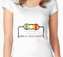 Vive la Resistance Women's Fitted Scoop T-Shirt