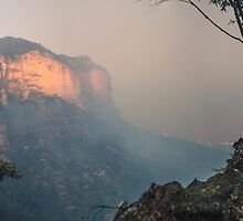 Blue Mountains saved from the Flames by STEPHEN GEORGIOU