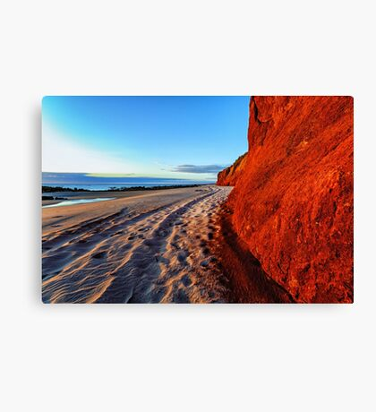 James Price Point Beach Canvas Print