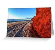 James Price Point Beach Greeting Card