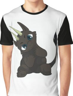 Chibi Dragon Graphic T-Shirt