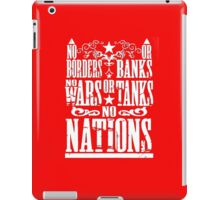 no wars iPad Case/Skin