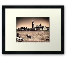 A perfect day in Venice Framed Print