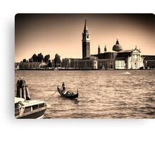 A perfect day in Venice Canvas Print