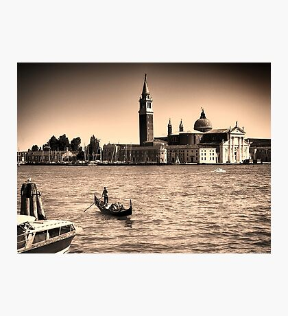 A perfect day in Venice Photographic Print