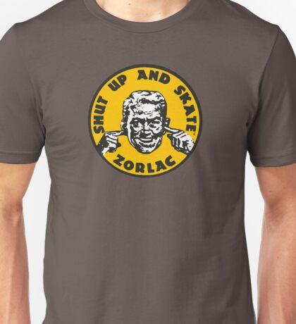 ZORLAC 80´S SKATEBOARDS (YELLOW) Unisex T-Shirt