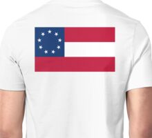 Stars & Bars, USA, America, First American National Flag, 9 stars, 1861 Unisex T-Shirt