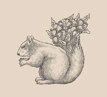 Squirrel with acorns in the tail Unisex T-Shirt