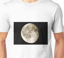 cratered moon Unisex T-Shirt