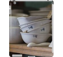 Abandoned Science Lab Porcelain Testing Equipment  iPad Case/Skin