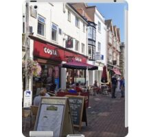 Butcher Row, Salisbury, Wiltshire, United Kingdom. iPad Case/Skin