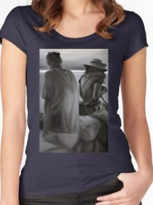 Separated, 2012, 80-53cm, oil on canvas Women's Fitted Scoop T-Shirt