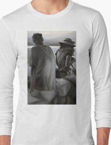 Separated, 2012, 80-53cm, oil on canvas Long Sleeve T-Shirt