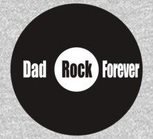 Dad Rock Forever Kids Tee