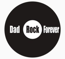 Dad Rock Forever Kids Tee